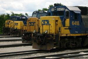 CSX Lineup by DragonWolfACe