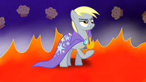 Derpy, Evil Lord of the Council of Muffins by TimeForSP