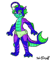 Lockness the Seamonster by BlazeHeartPanther