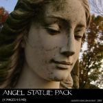 Angel Statue Pack by sadistik-stock