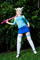 Fionna - Adventure Time Cosplay by Kitty-Honey