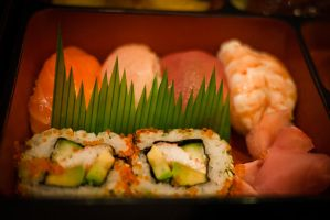 Sushi Grass by feria233