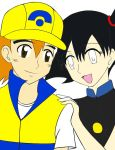 Ash and Misty Swaped colors by NaruHina2010
