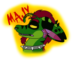 Majy Conbadge Thing by hellasexual