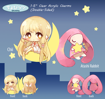 Chobits Acrylic Charm Set by h-yde