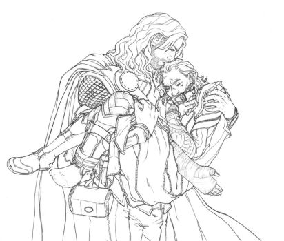 Princess Carry by Amberguesa