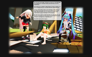 MMD Requiem for the Easter Bunny ... by Trackdancer