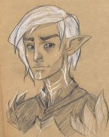 Dragon Age II: Fenris by jazzmire