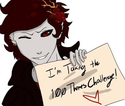 100 Theme Challenge! by Ampersand-Art