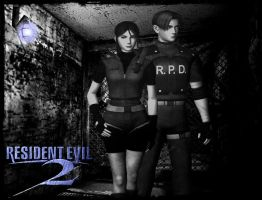 RE2 - Classic c by cyber-rayne