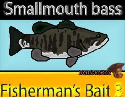 Smallmouth Bass from Fisherman's Bait 3 by BenioxoXox