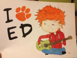 Ed Sheeran by ChristieB1