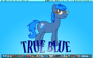 True Blue by UberMan5000