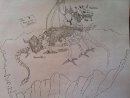 The Armageddon Monsters by Omnimon1996