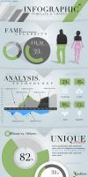 Infographic Template and Charts v6 by CursiveQ-Designs