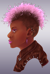 Punk Portrait by SailingBreezes