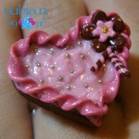 Chocolate Fairy cake ring by colourful-blossom