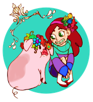 my best friend the pig by muura