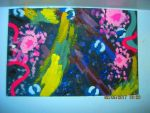 In-Class Abstract Painting #4 by Winter-Colorful