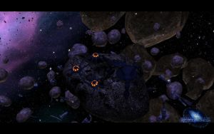 Wraith Asteroid Mine by SGMG-Klon