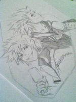 Roxas and Axel by gamesgirl44