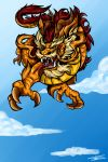 Chinese Dragon by Mimy92Sonadow