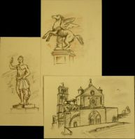 Sketches of Florence 1 by kUkara4