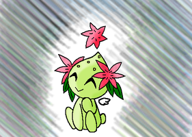 PC~ Shaymin Chao by Miss-Catstacks