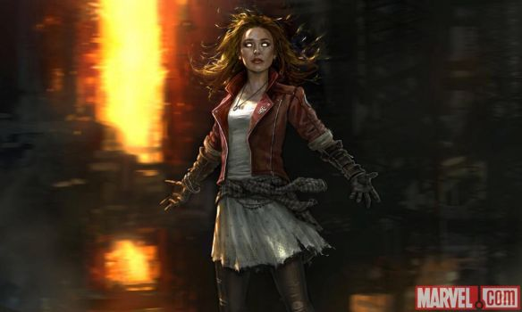 Scarlet Witch concept art! by Artlover67