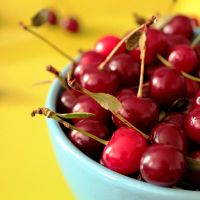 sour cherries by 1510