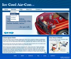 Ice Cool Air-Con Layout by datamouse