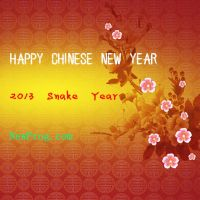 Chinese-New-Year-2013-newfrog-snake-year by NewFrog