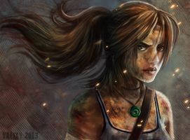 Tomb Raider by Valixy
