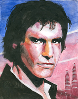 Han Solo by SvenjaLiv