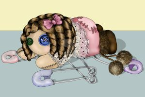 Baby Pin PIxie by Therena-C-Art