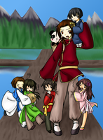 APH: Asia Family colored by X-I-L2048