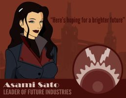 Asami: Hoping for a brighter future by Khorin