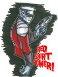 Red Shirt Power by stourangeau