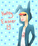 Happy Easter by Psychodoughgirl4