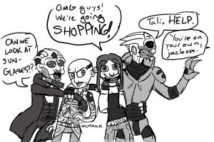 ME- Shopping by anniezard