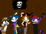 Prisoners of the pirates by Scurvypiratehog