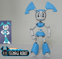 MY LIFE AS A TEENAGE ROBOT NEW TOY by mayozilla