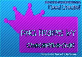 PNG FRAMES 01 by ChocoReiko-Chan