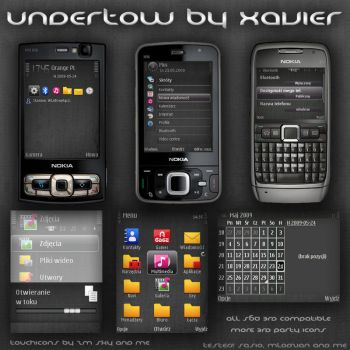 Undertow Symbian theme by Xavier-Themes