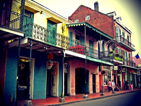 New Orleans French Quarter 2 by serpentesse