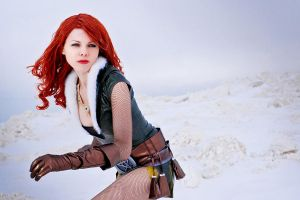 triss (no texture) by Selen-cosvamp