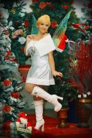 Tinkerbell white christmas by FrancescaMisa