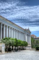 National Archaeological Museum of Athens front by etsap