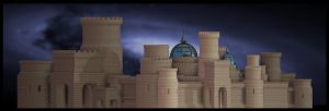 El Castillo de Arena by quartertime