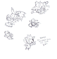 Tip-Chip first sketches by dabbido